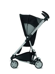 Dreirad Kinderwagen Seitenansicht