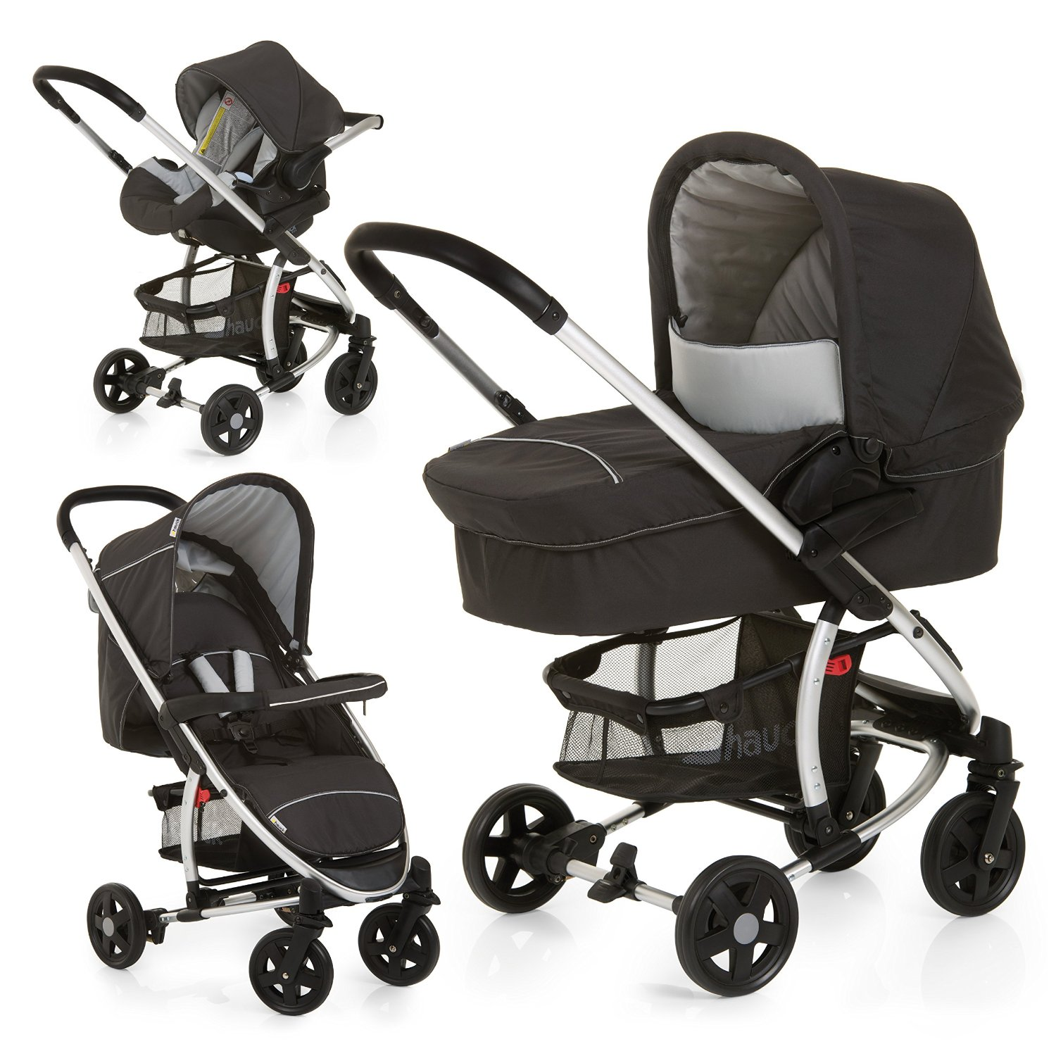 Stroller System With Car Seat And Carrier