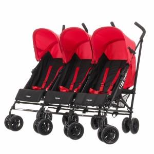 Obaby Mercury Kinderwagen für Drillinge