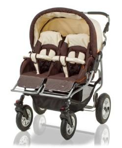 Zwillingskinderwagen Test