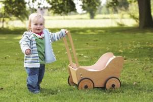 Ausstattung des Holzkinderwagen