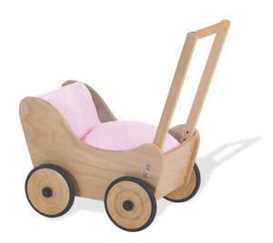 Pinolino 262301 Holzkinderwagen