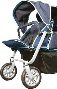 2gether Vierlingskinderwagen Vorderräder