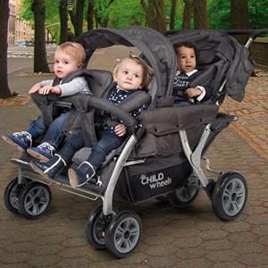 childwheels kinderwagen vierlinge