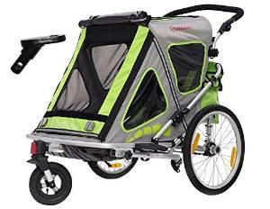 kinderwagen f r fahrrad vergleich f r mobile eltern mit. Black Bedroom Furniture Sets. Home Design Ideas