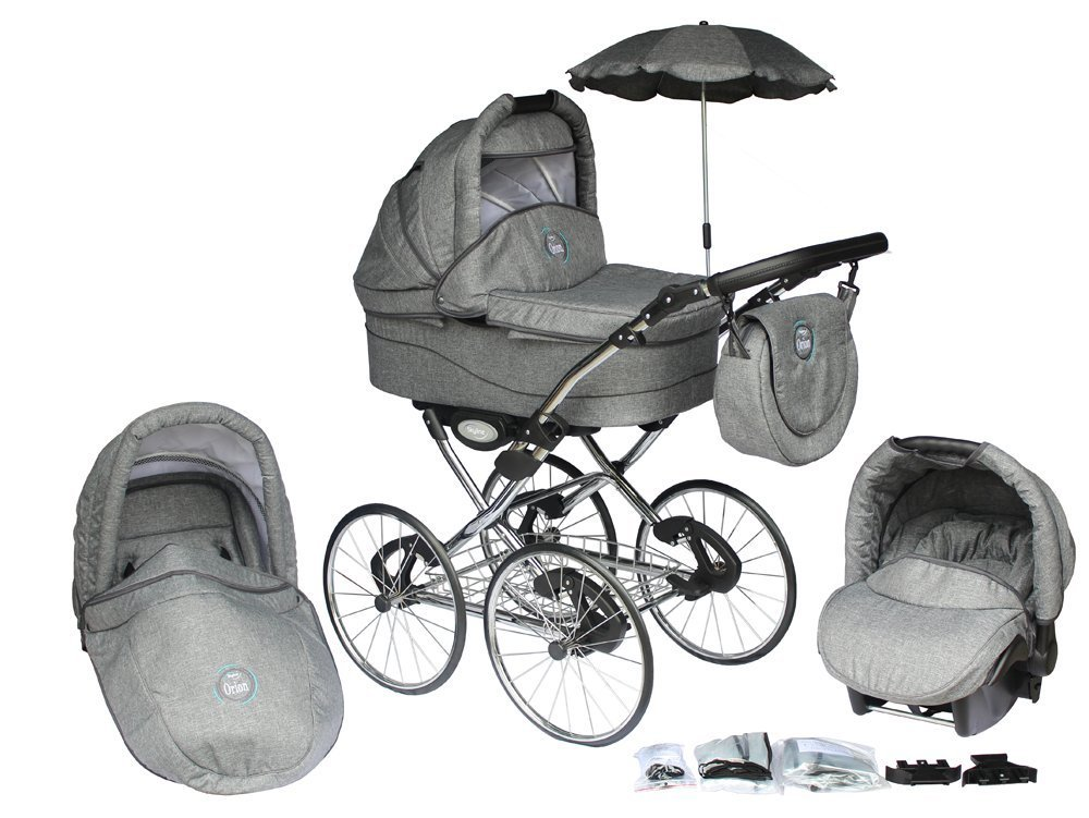 kinderwagen 70er vergleich 3 in 1 orion retro. Black Bedroom Furniture Sets. Home Design Ideas