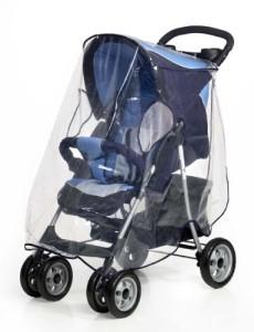 Kinderwagen Regenschutz Test