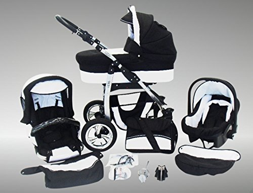 kinderwagen mit adapter im vergleich ideal sportive von. Black Bedroom Furniture Sets. Home Design Ideas