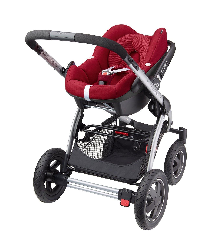 babyschale kinderwagen wie lange