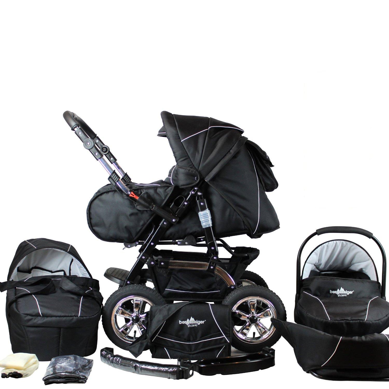 kinderwagen mit vier gleich gro en r dern vergleich. Black Bedroom Furniture Sets. Home Design Ideas