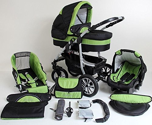 kinderwagen mit babyschale praktisch und sicher unterwegs. Black Bedroom Furniture Sets. Home Design Ideas
